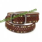 Fashion Hollow Out Studded Belt For Pants